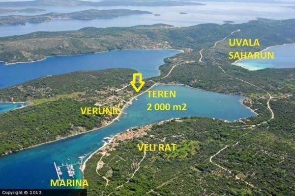 Dugi Otok - Verunić, prekrasan teren uz more